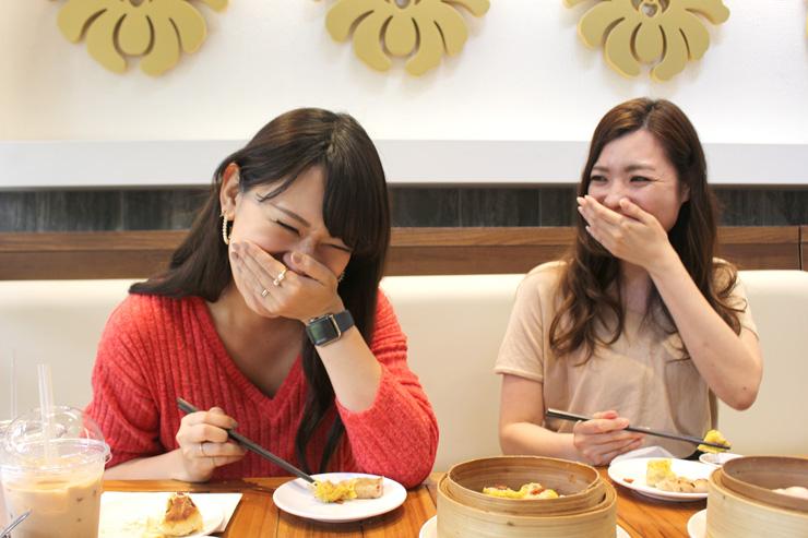 ナオコ「うんま〜!言葉にできない(笑)」