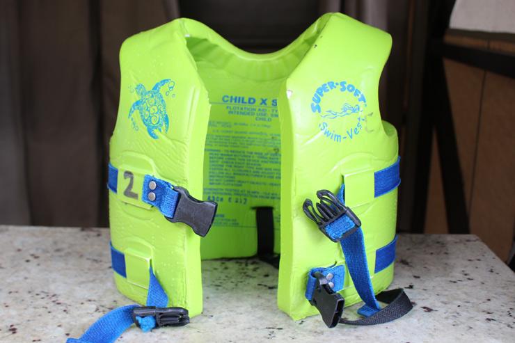アウラニの子ども用のライフジャケット