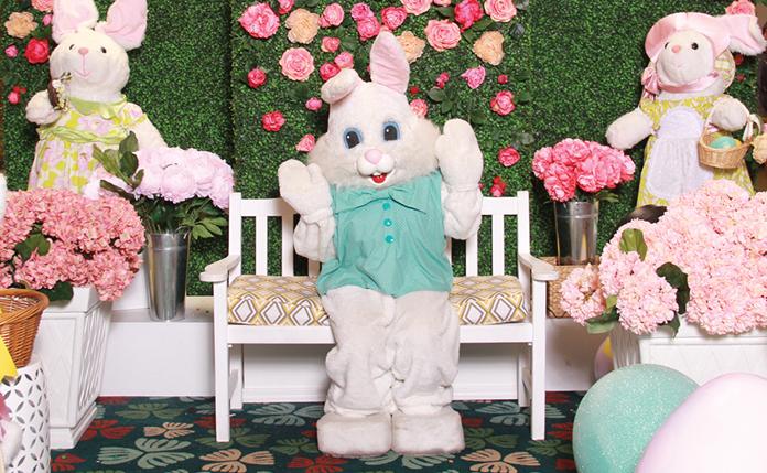 アメリカの春の風物詩に参加して、ウサギと一緒の思い出作り!