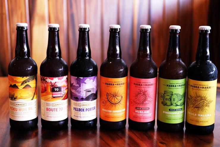 ハワイのクラフトビール ラニカイブリューイング 瓶ビール