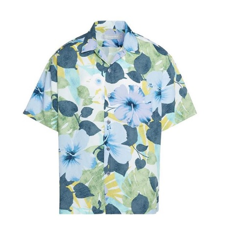 レトロなデザインのアロハシャツ!
