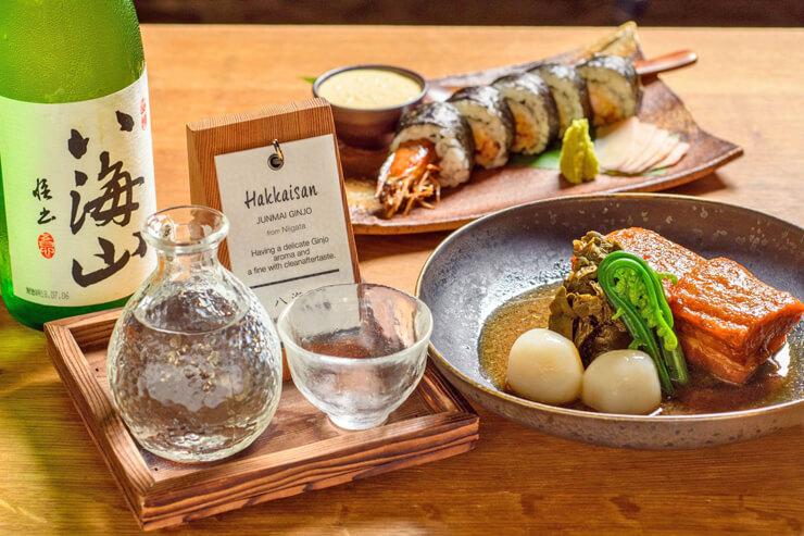 ハワイで楽しむ!ZIGUの日本酒八海山祭り