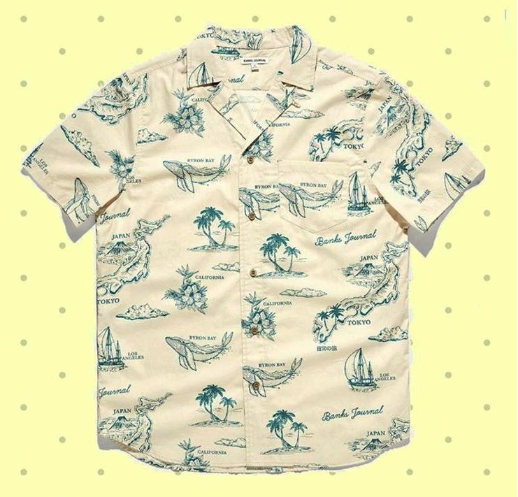 HAWAII限定シャツ?
