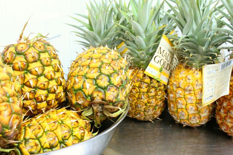 ピエール マルコリーニで使用しているハワイ産パイナップル