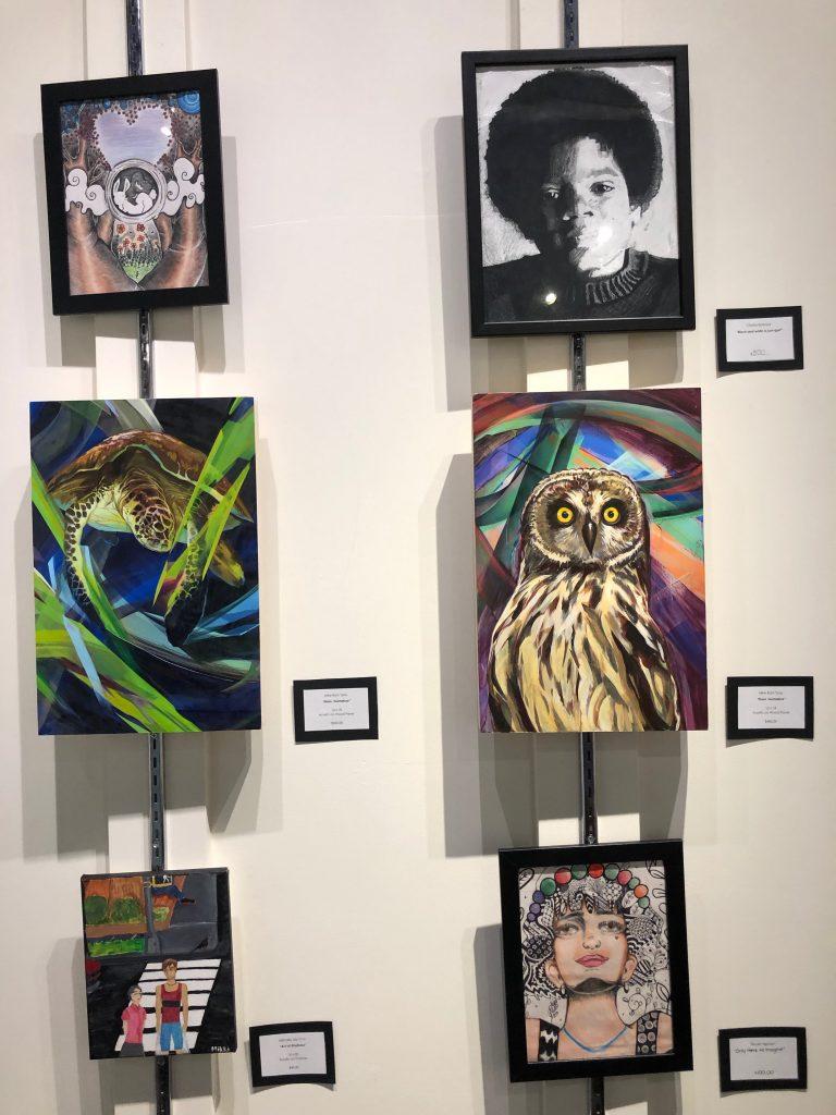 地元学生によるアートの展示販売会「ロイヤルギャラリー」開催!