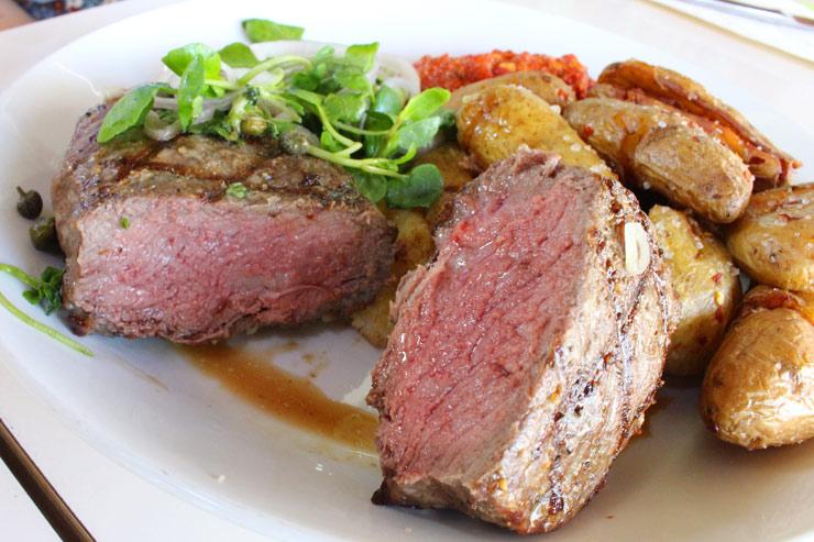 グラスフェッドビーフ・オーガニック・ニューヨークステーキ:$44