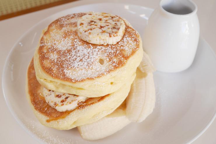 リコッタパンケーキ:$21
