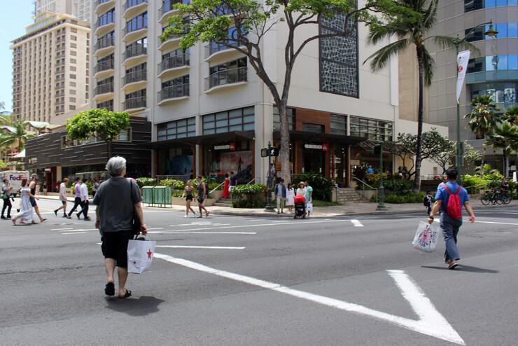 ハワイの交通ルール<歩行者編>