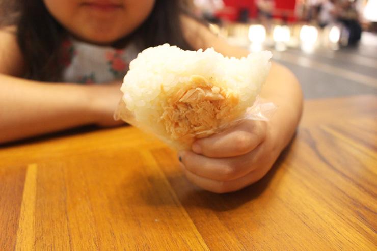日本有機米を使用したおむすび