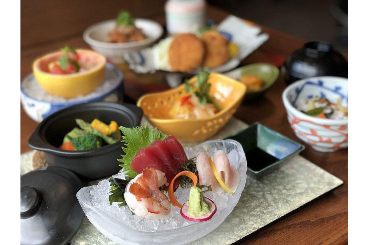 5月限定!旬の食材を満喫できる本格和食店のランチ
