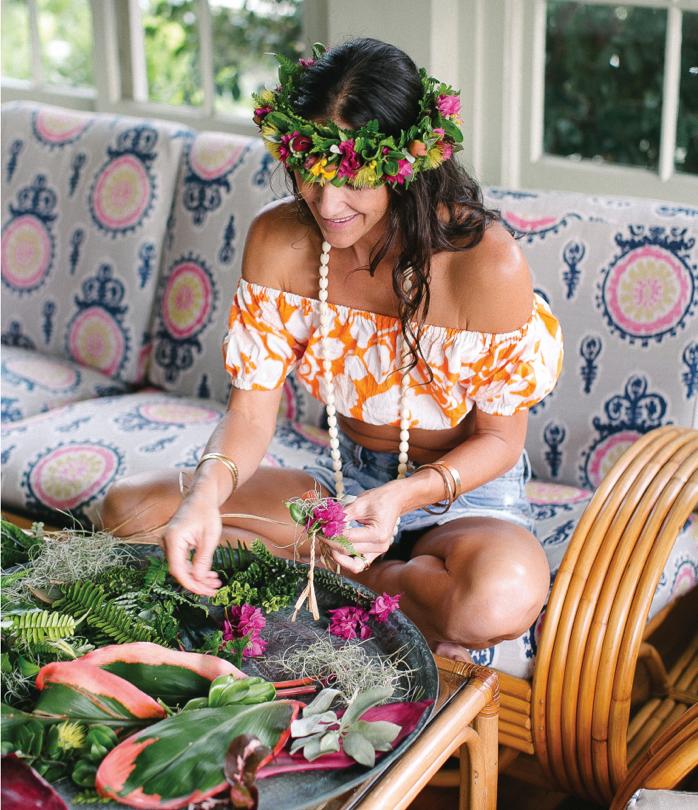 ハワイ伝統の本格レイメーキングが無料!