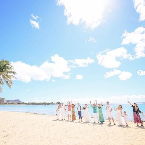 ゲストも参加のビーチフォト撮影!