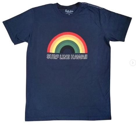 サーフラインのレインボーグラフィックTシャツ!