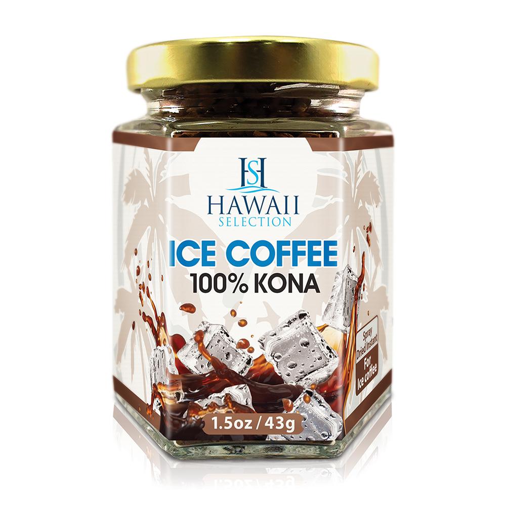 アイス用 フリーズドライタイプ100%コナコーヒー