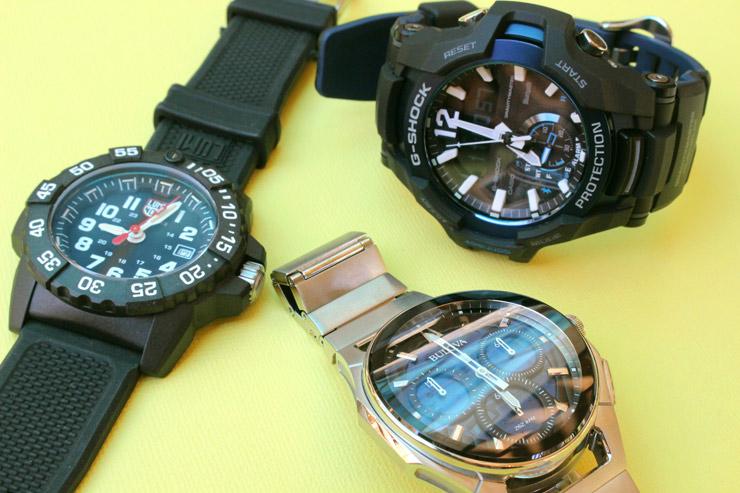 日本未発売もある腕時計