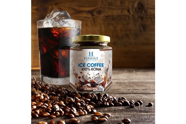 ハワイ・セレクションの100%コナ・アイスコーヒー