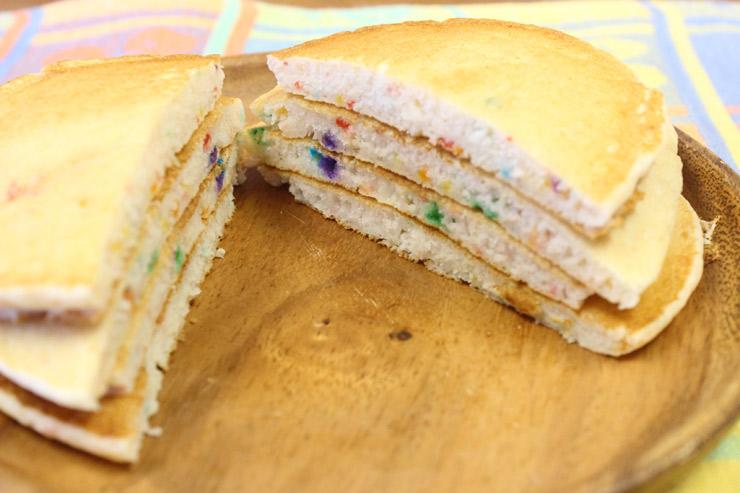 マツモトシェイブアイスのパンケーキ