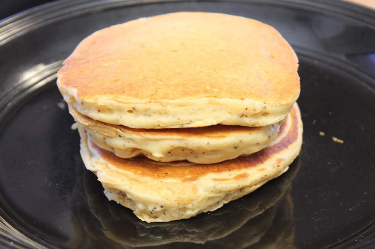 ハワイセレクションのパンケーキ