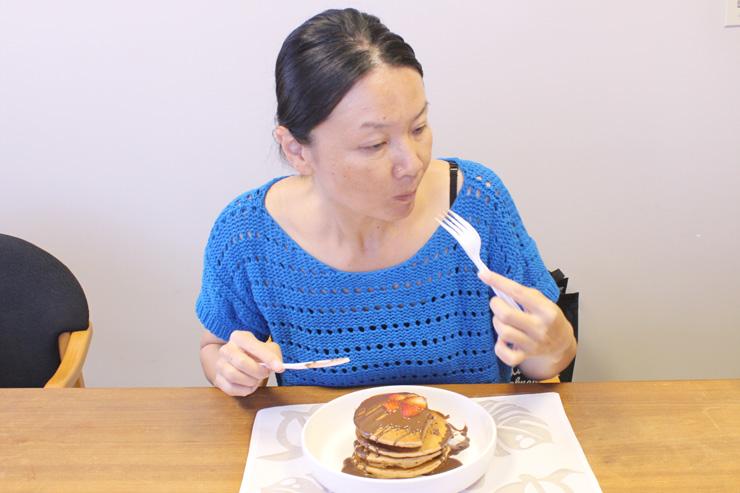 ハワイアン・サンのパンケーキの感想