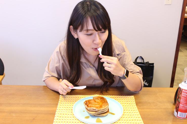 カハラフレッシュのパンケーキの感想