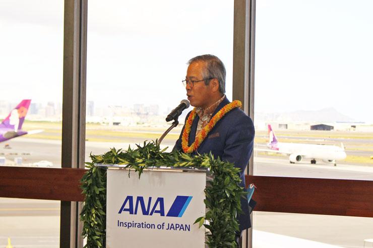 伊藤氏:様々な国の国際空港を見てきましたが、こんなにも綺麗な景色が見られるラウンジはなかなかないと思います。
