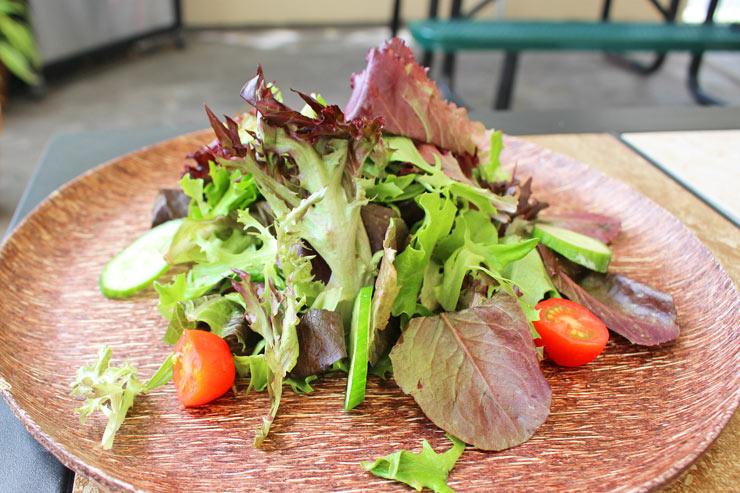 アロハストリートのクーポンで進呈されるサラダ
