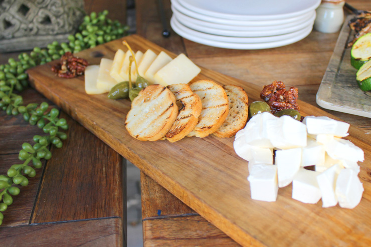 チーズプラッター