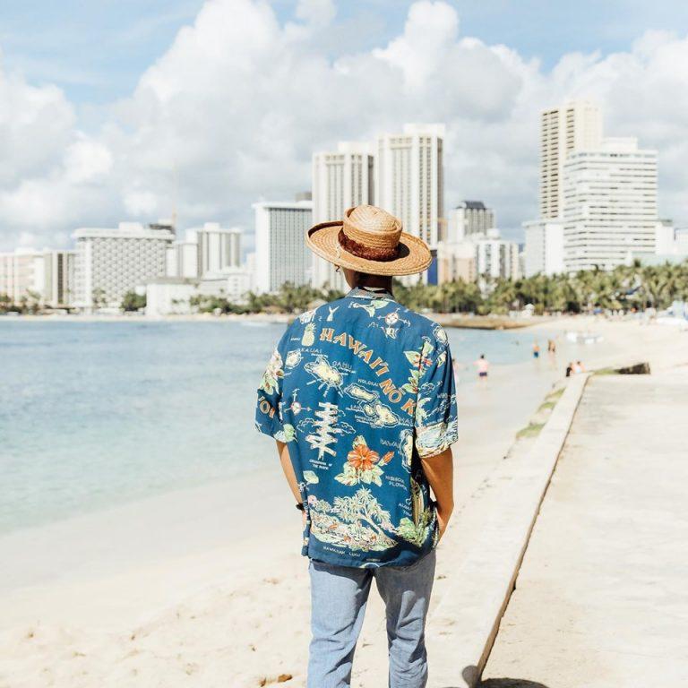 ハワイアンアロハシャツ!