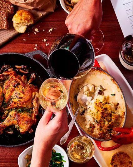地産地消の料理&有機栽培ワインが楽しめる!