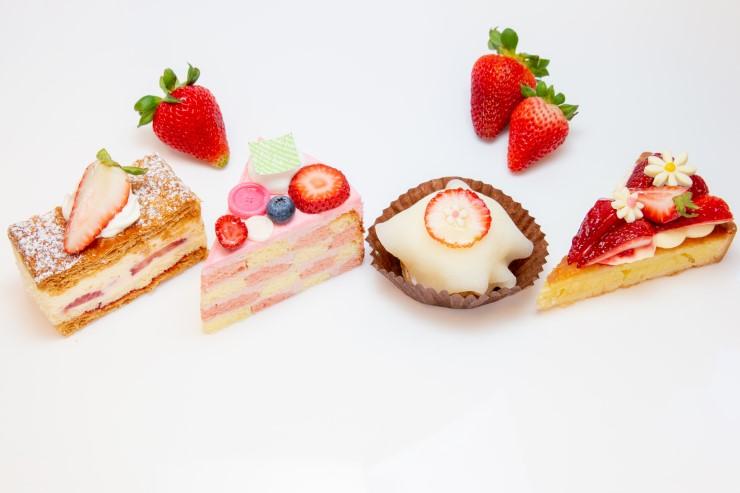 6月はイチゴたっぷりの、イチゴづくしケーキに注目