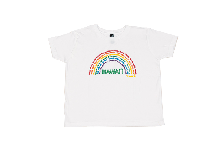 アヌエヌエ(虹)シリーズTシャツ:$29.95
