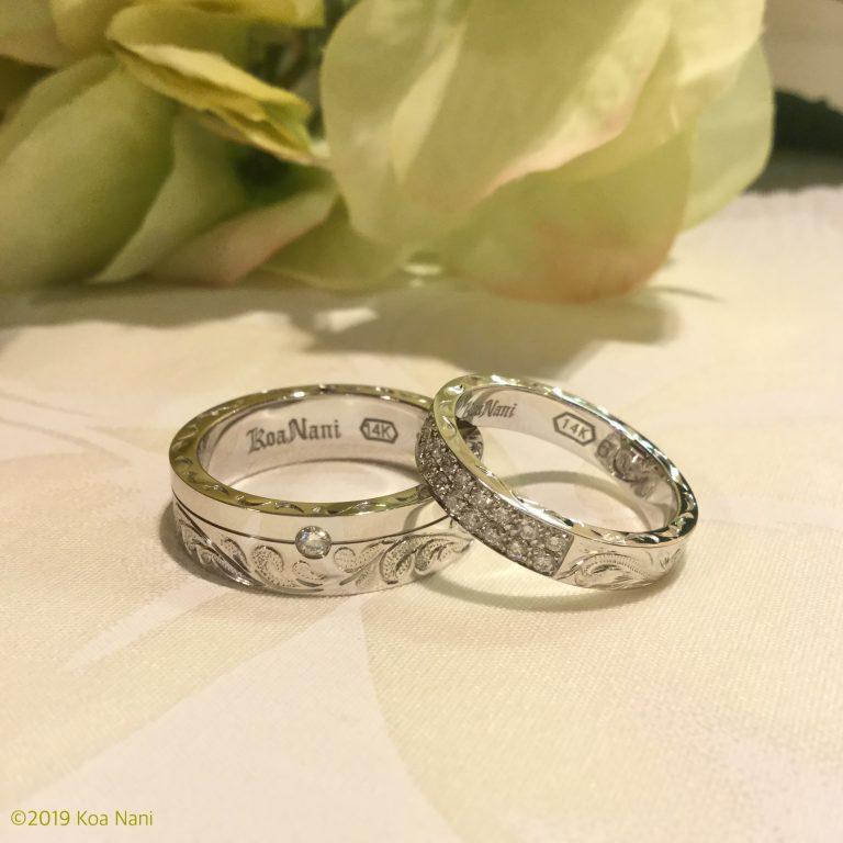 幸せ誓い合う純白の結婚指輪