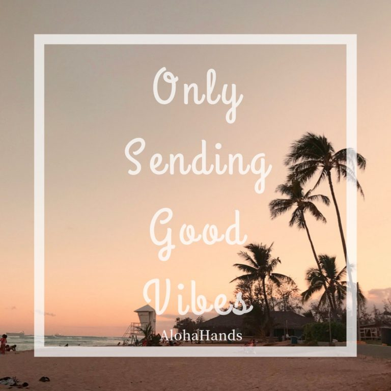 Only Sending Good Vibes♡