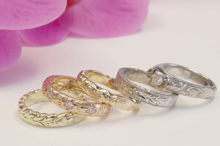 婚約・結婚指輪は最短で中一日からカスタムオーダー可能