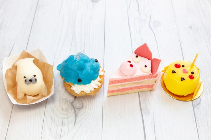 クルクルからキュートな動物型ケーキが新登場!