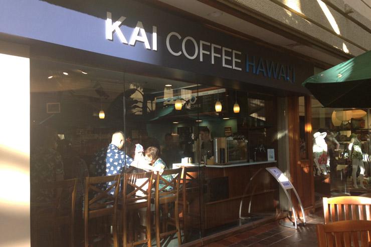 カイ コーヒー ハワイの外観