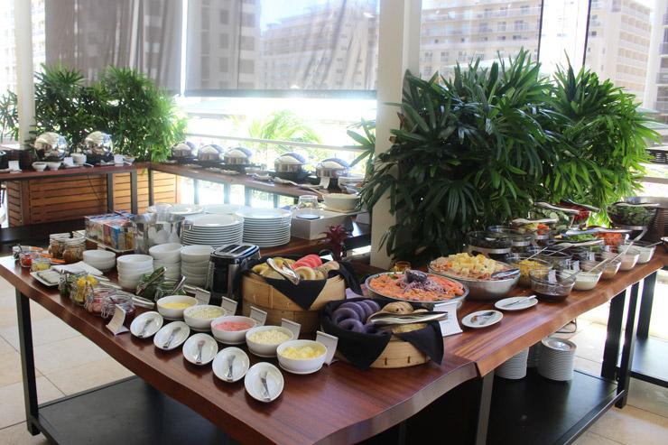 陰陽カフェの朝食ビュッフェ