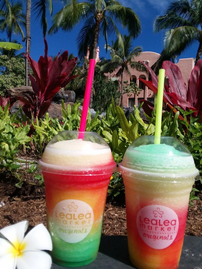 【ハワイらしい虹色スラッシー】アロハストリートクーポン有り♪