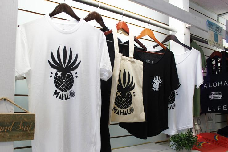 リカコ&パンキーアロハコラボレーションTシャツ
