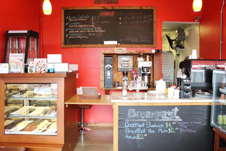 カフェ・デライトの店内