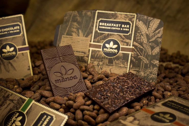 ハワイのマノアチョコレート チョコレートバー