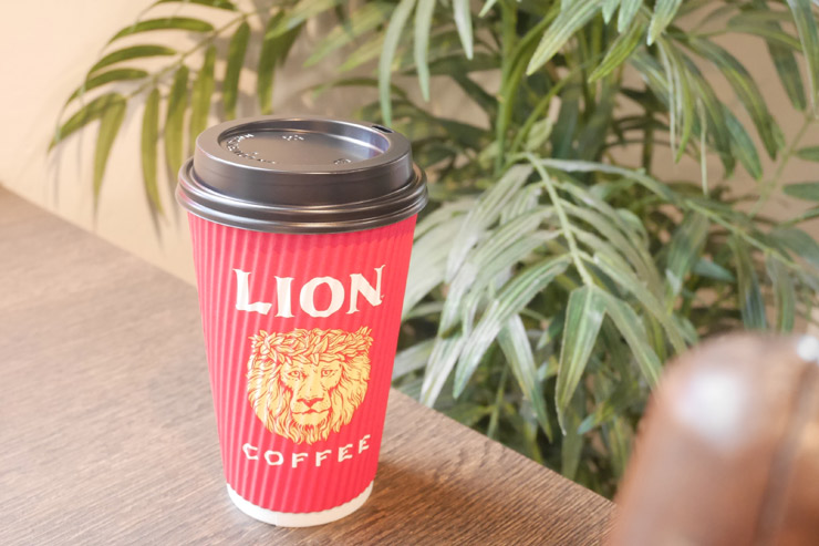 ライオンコーヒーの100%コナ・プレス