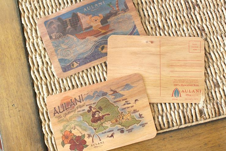 アウラニ限定ポストカード:各$7