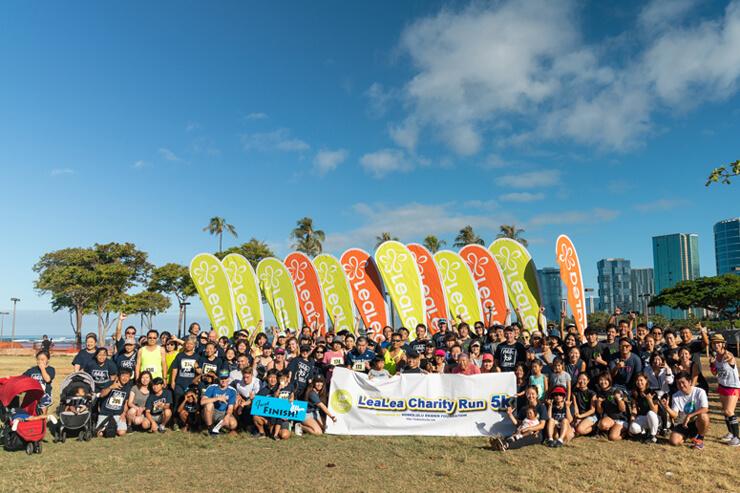 ハワイで体験!催し満載の人気チャリティーラン