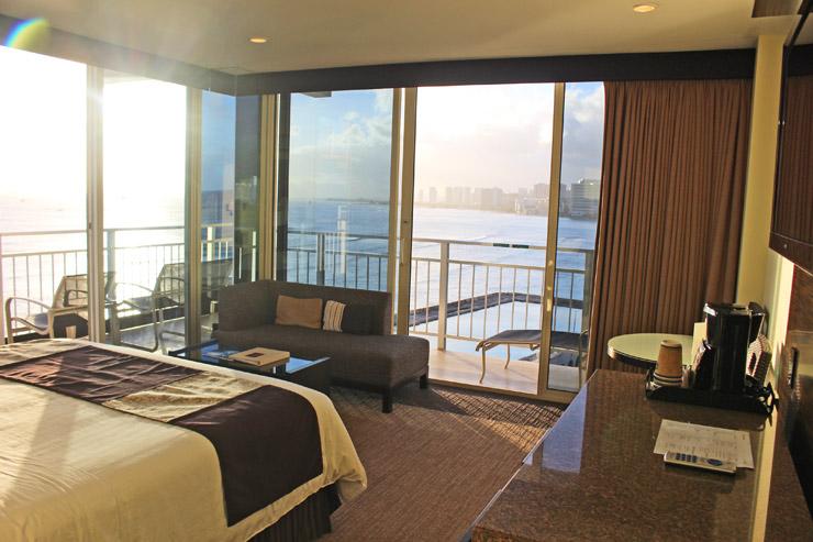 カイマナ・ビーチ・ホテルのデラックスルーム