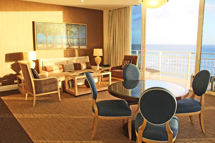 カイマナ・ビーチ・ホテルのスイートルーム