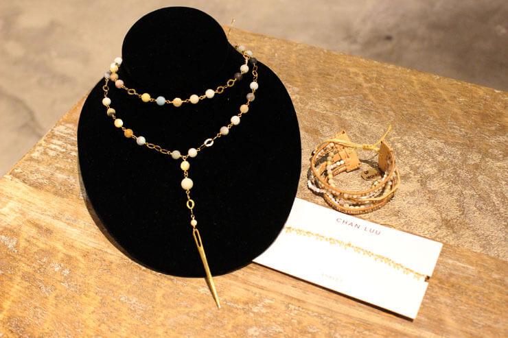 Chan Luuのネックレスやアンクレット