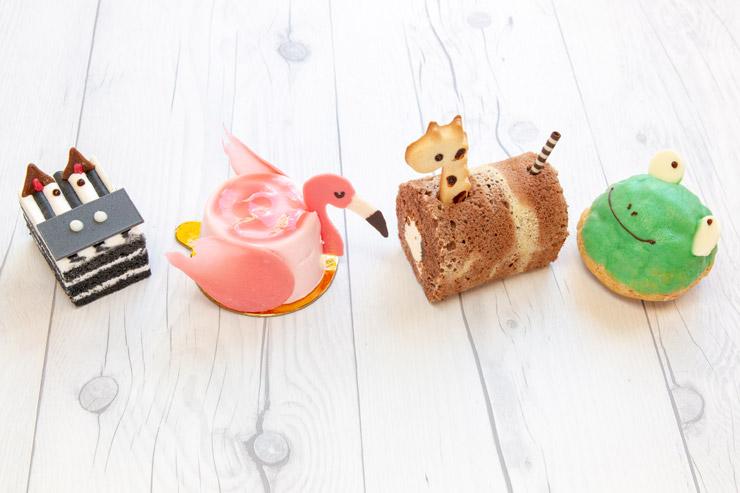 人気スイーツ店から登場!8月限定の動物型ケーキ
