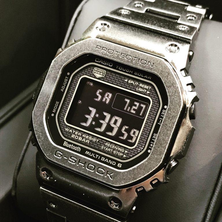 ヴィンテージ感溢れるG-Shock、日本で完売の限定モデル!