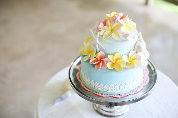 リノハワイでは、クレイケーキをレンタルできる